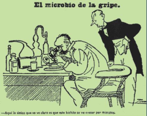Viñeta de la portada de El Heraldo de Madrid del 26 de octubre de 1918